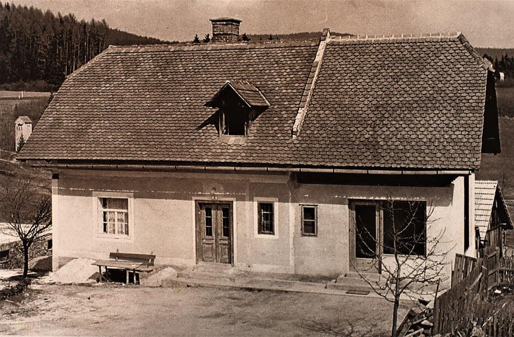 Bäckereieinbau 1957