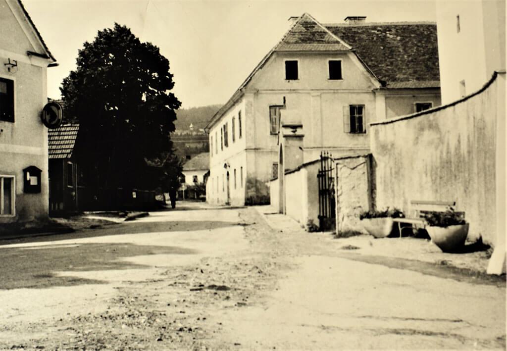 Zustand Pfarrhof 1956
